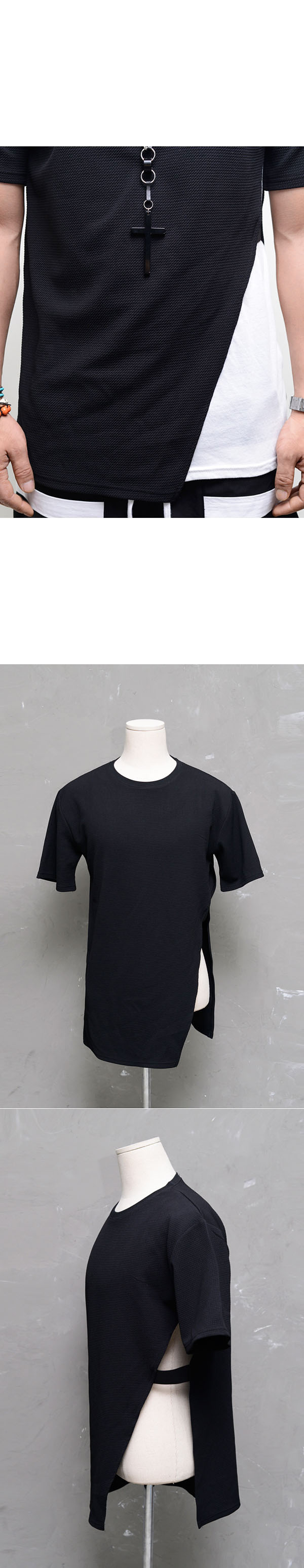 how to cut a band tee