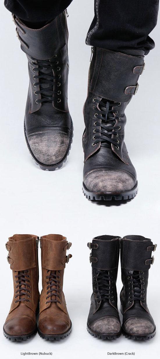 shoes vintage biker boots shoes 41 guylook