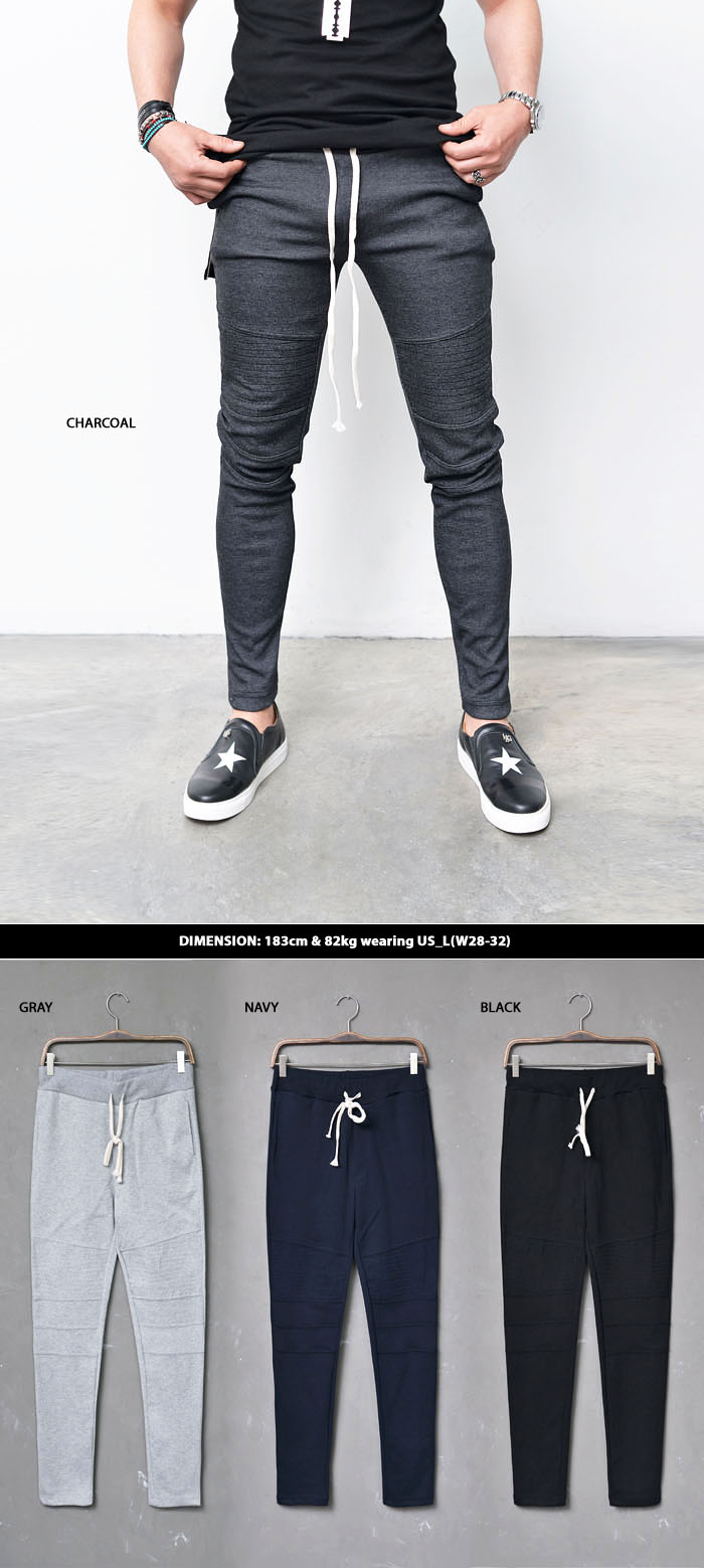 how to cut sweatpants at bottom
